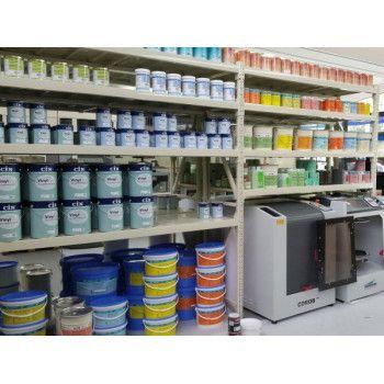 Rack mi-lourd magasin de peinture