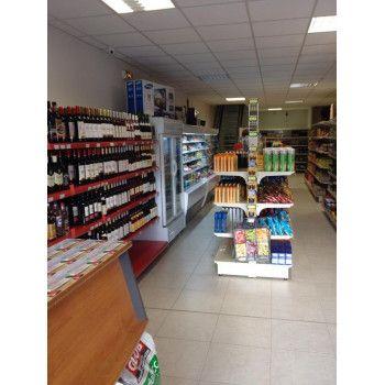 Gondole double-face magasin d'alimentation