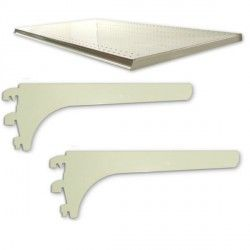 tablettes pour gondole rayonnage de magasin. Black Bedroom Furniture Sets. Home Design Ideas