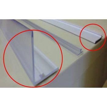 Rail de fixation de 30 mm (Blanc) pour séparateur