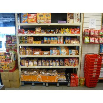 Magasin Discounter alimentaire rack mi lourd
