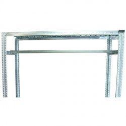 Kit Penderie Longueur 1 200 ou 1500 mm pour etagere galvanisée