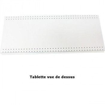 Tablette de base pour gondole murale et/ou TG