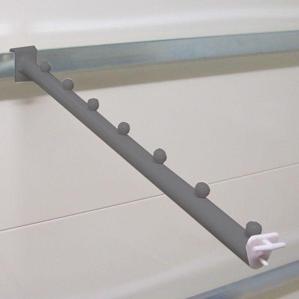 Bras incliné barre de charge. Longueur 450mm 6 boules. (Le paquet de 10)
