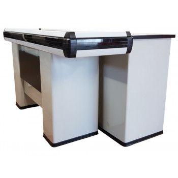 Meuble de caisse avec tablette pour personne a mobilité réduite