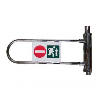 Pictogramme portillon pour barre de guidage