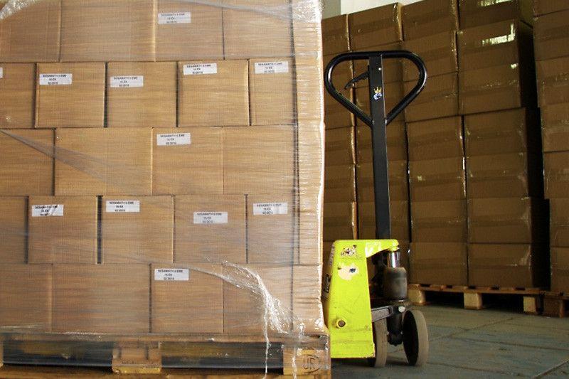Transpalette manuel 2 et 2,2 tonnes - Rayonnage de Magasin