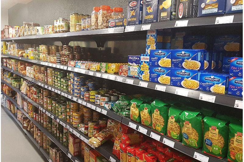 Nos réalisations : agencement de magasin alimentaire